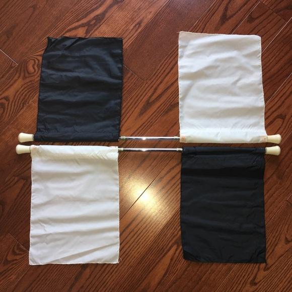 Costumes   Star Line Double Flag Baton Set Of 2 Plus Flags   Poshmark